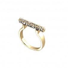 Ring Teija, gold/crystal 0