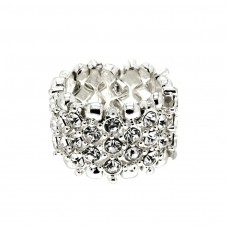 Ring Ida silber/crystal 0