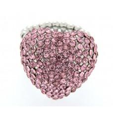 Ring Siiri silber/rose 0