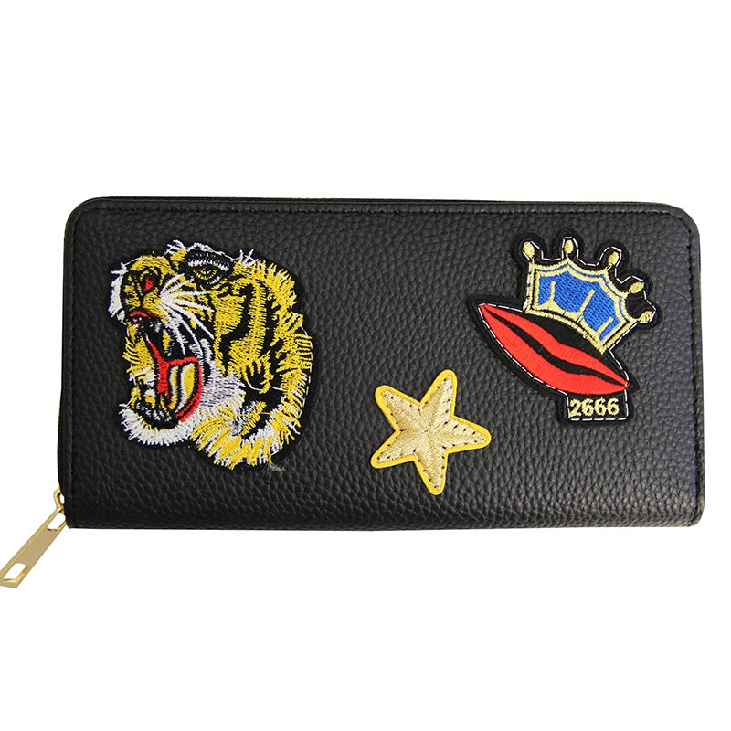 Purse Tiger, schwarz/multi
