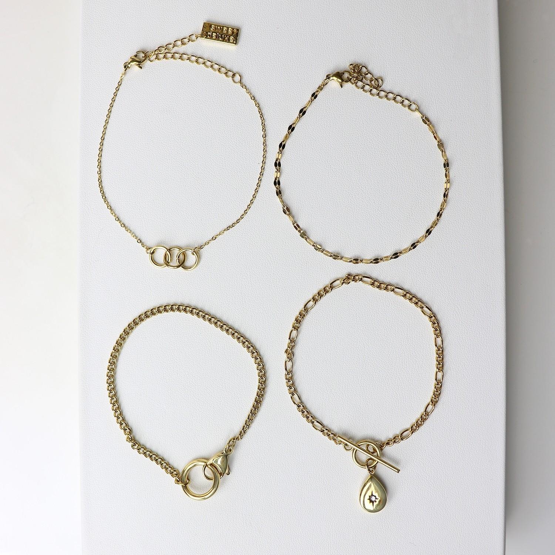 Armband Set Costia, gold