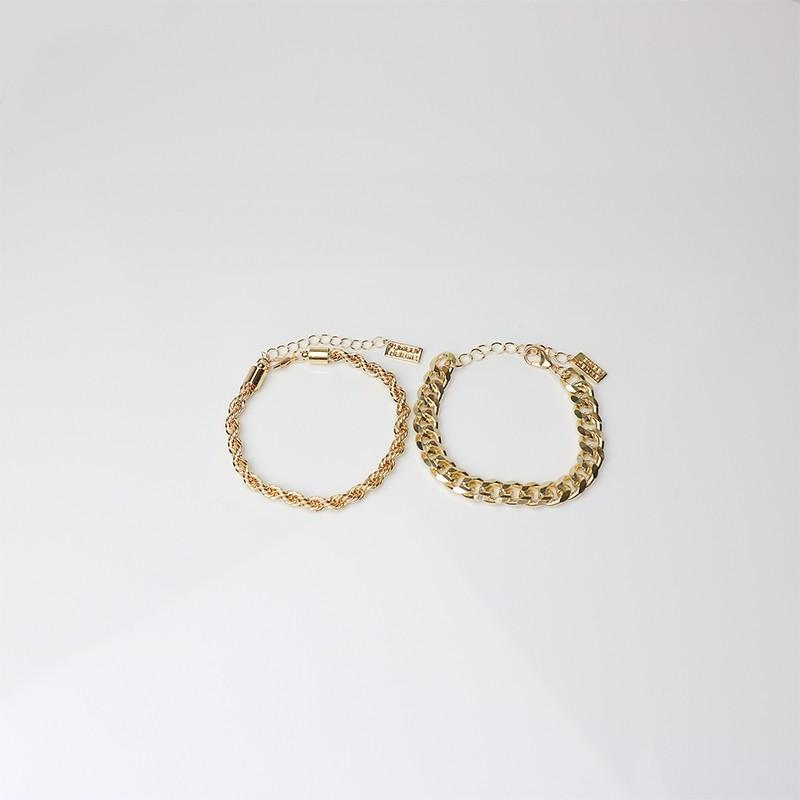 Armband Caroline 2tlg, gold