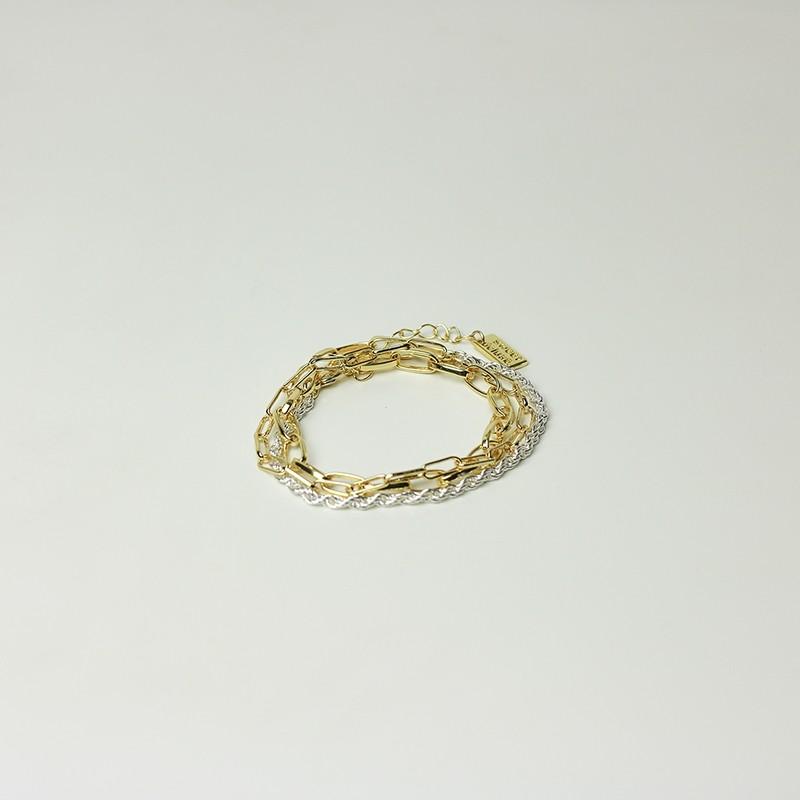 Wickelarmband Bloswen, gold