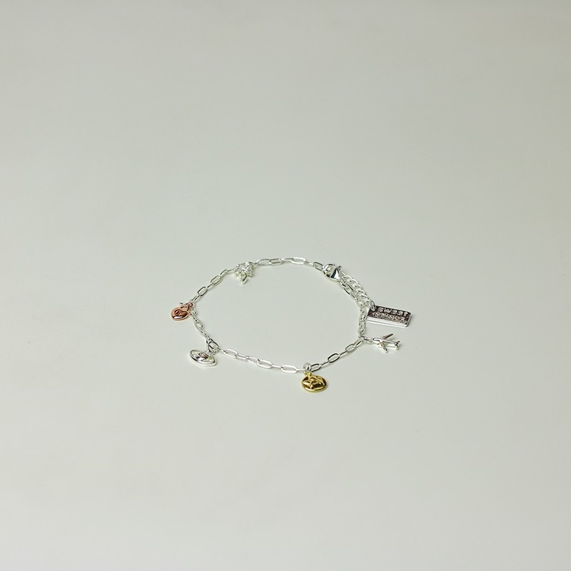 Armband Brinja, silber/gold