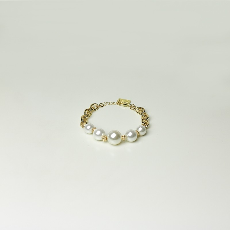 Armband Becky, gold/pearl