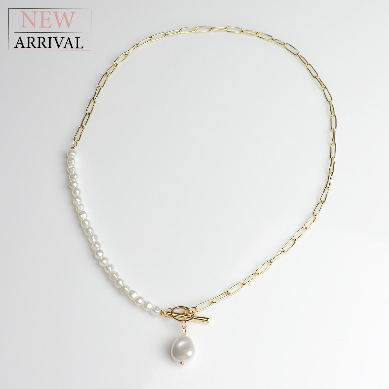 Kette Aaliyah, gold/pearl