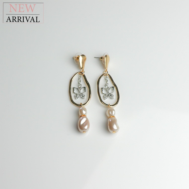 Ohrschmuck Cathlin, gold/silber/arcyl/crystal