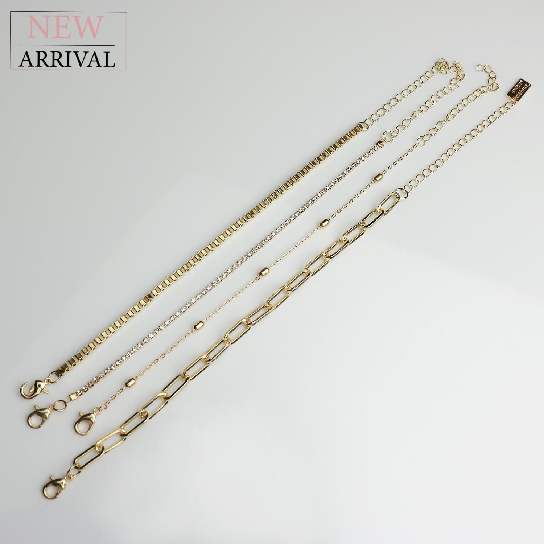Armband Set Daphne, gold