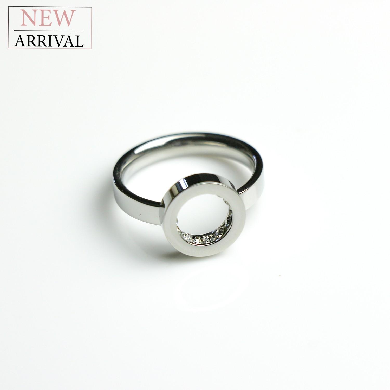 Ring Caya, silber