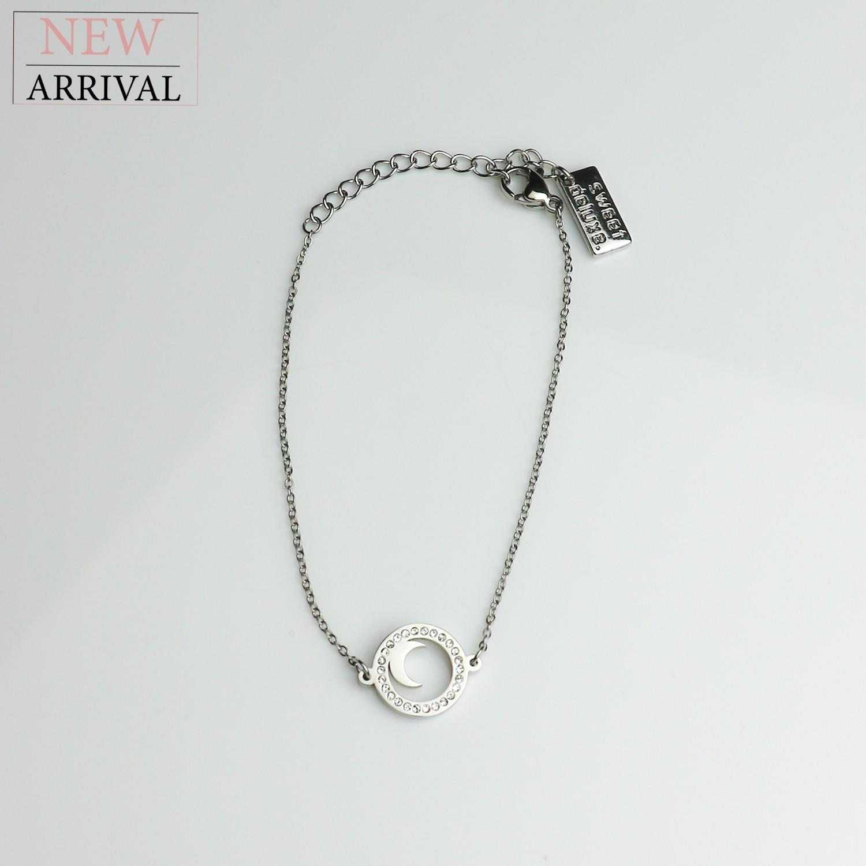 Armband Moon, silber/crystal