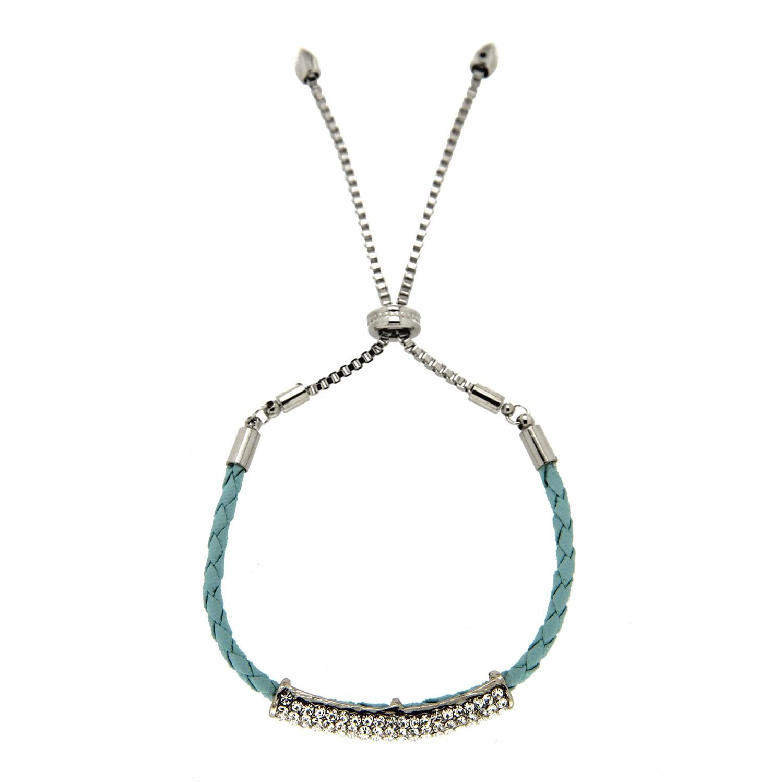 Armband Aalisha, silber crystal hellblau 0