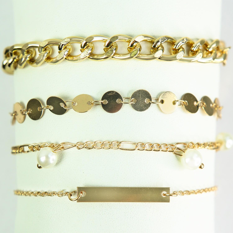 Armband Fiametta, gold pearl 0