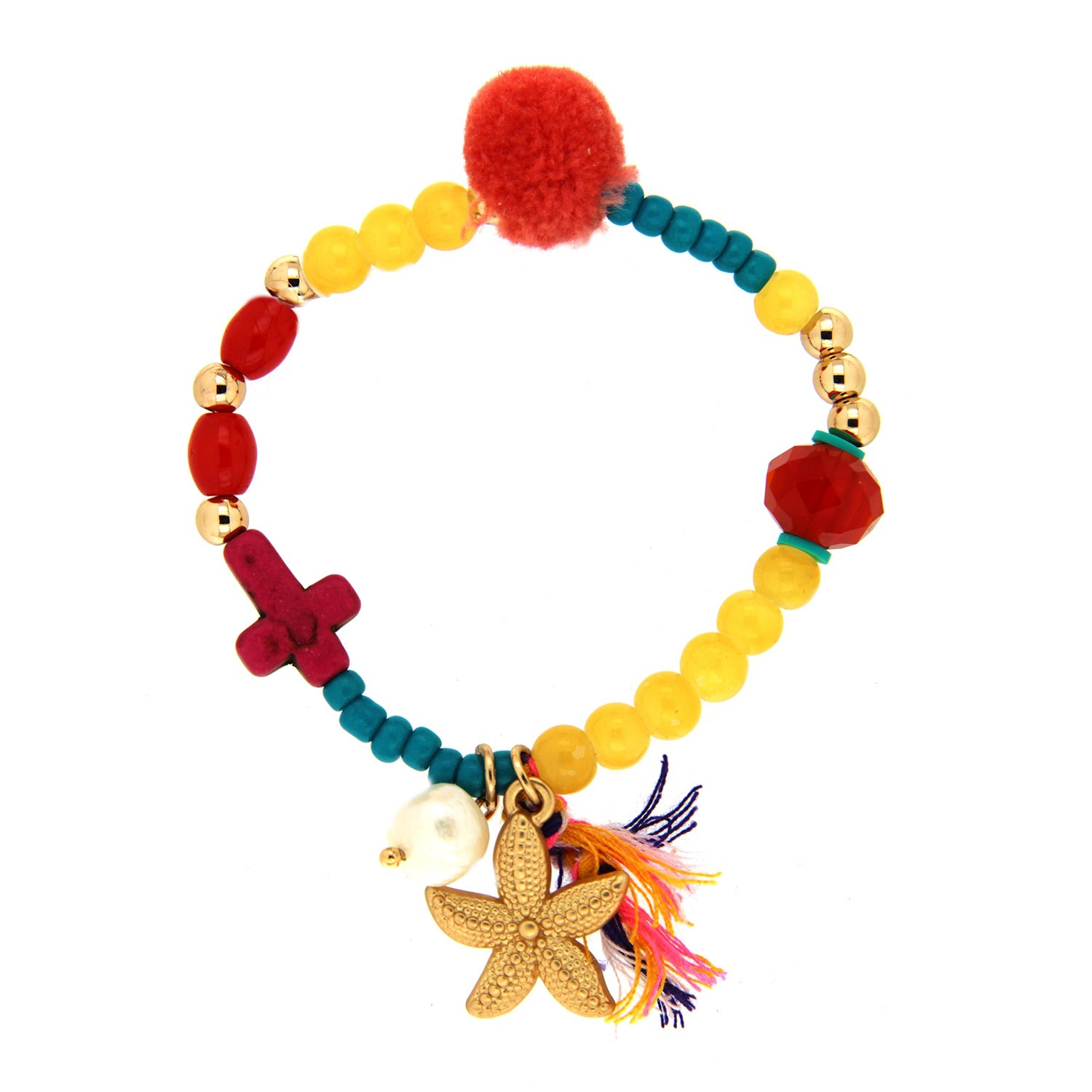 Armband little Sea Star, gold multi 0
