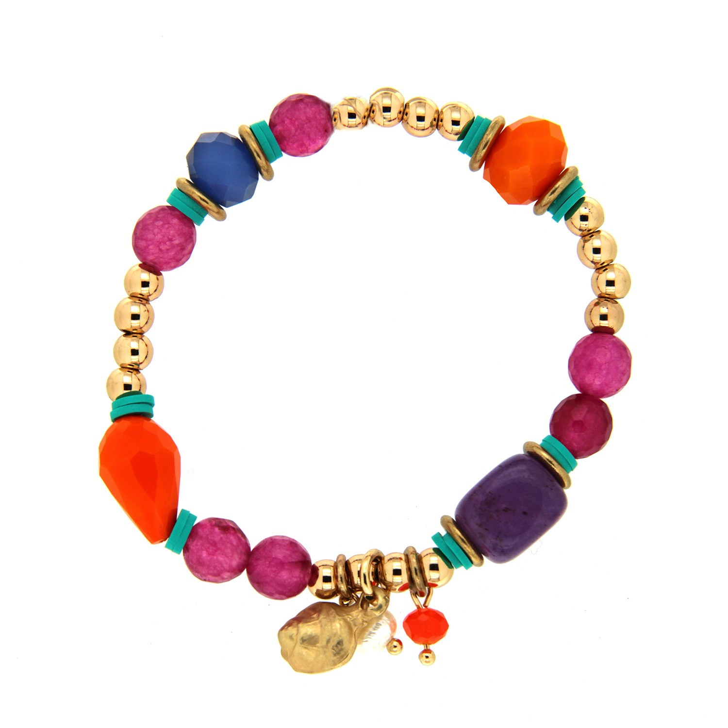 Armband little Snail, gold multi 0