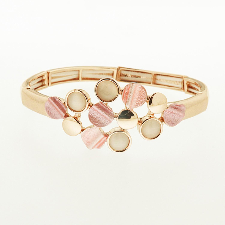 Armband, rosegold rose 0