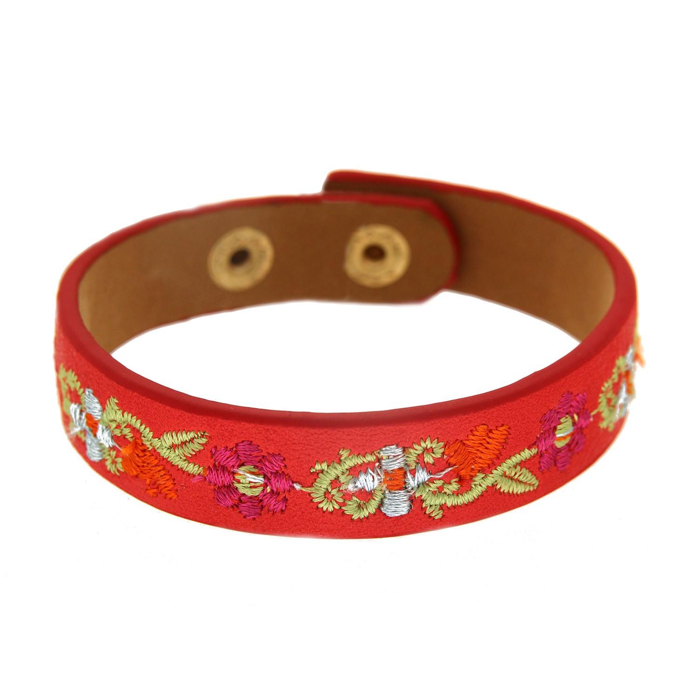 Armband Salome, rot gold multi 0