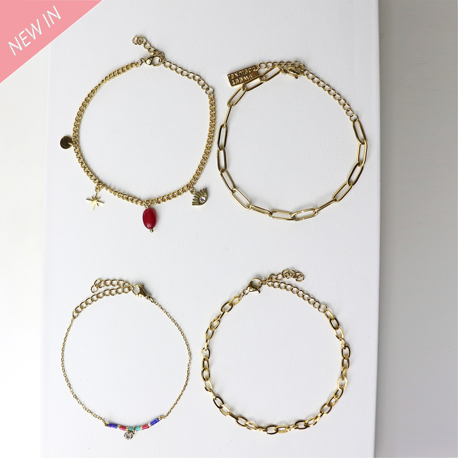 Armband Set Amke, gold multi 0
