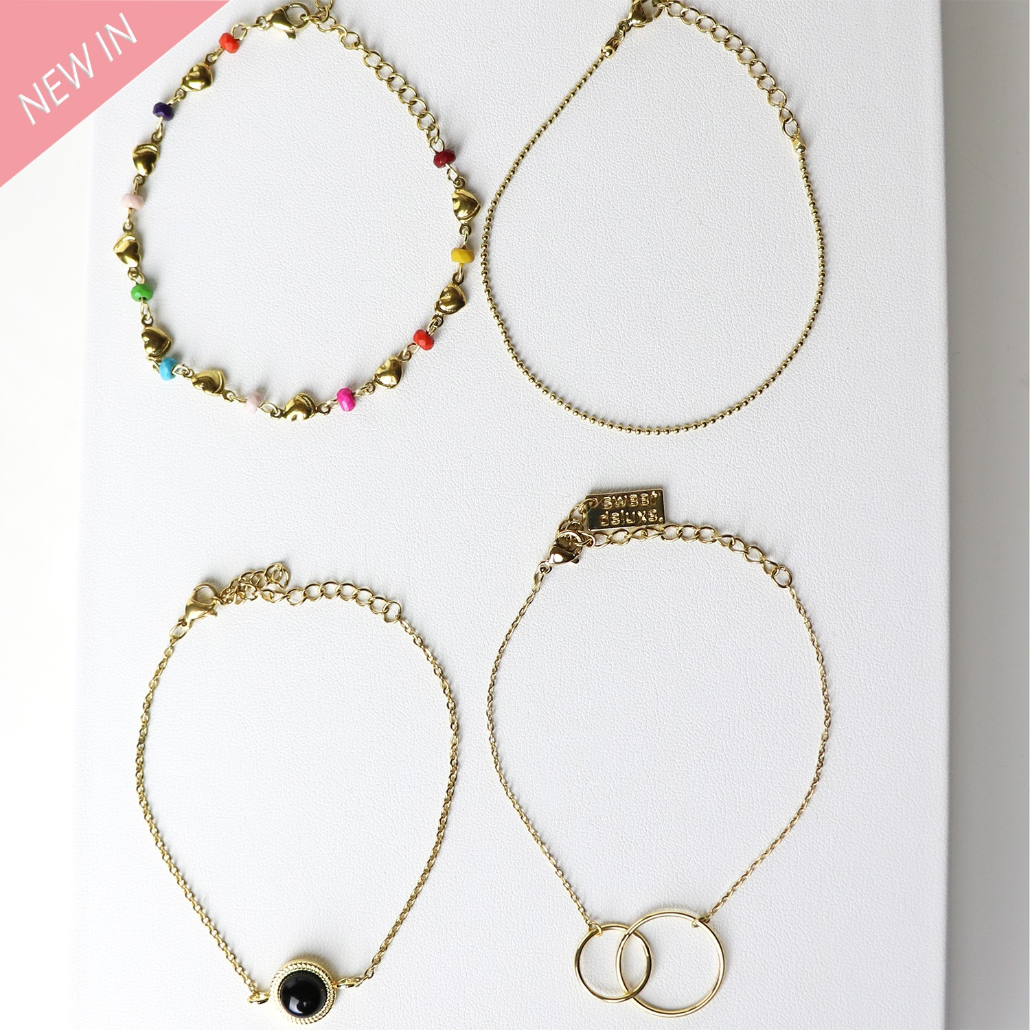 Armband Set Colleen, gold multi 0