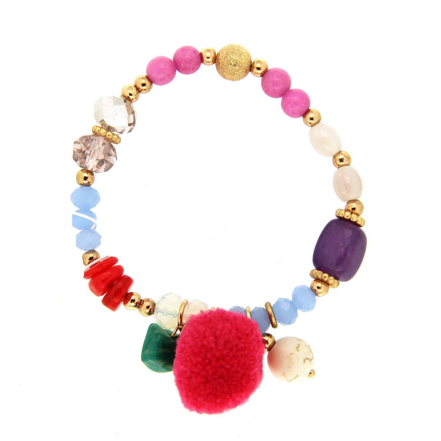 Armband Swinde, multi gold 0