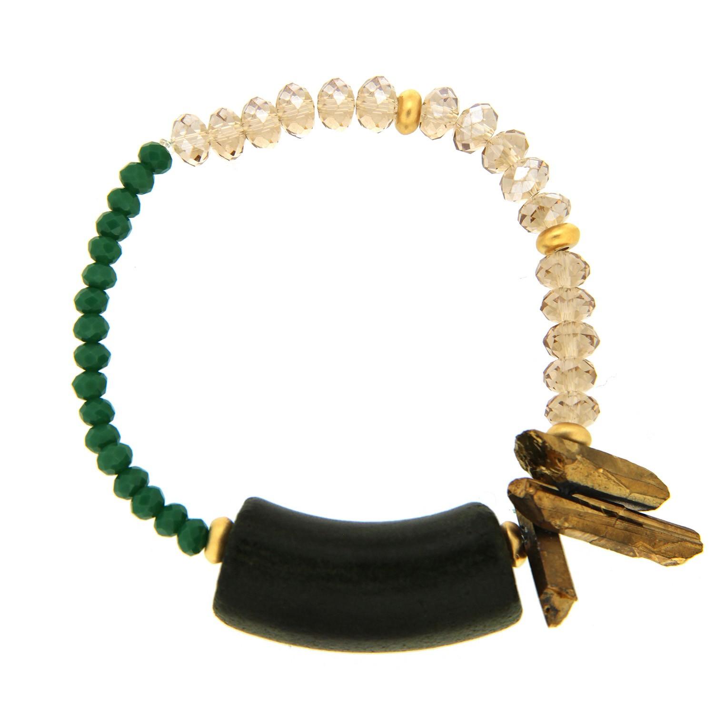 Armband Tetja, grün li.topaz 0