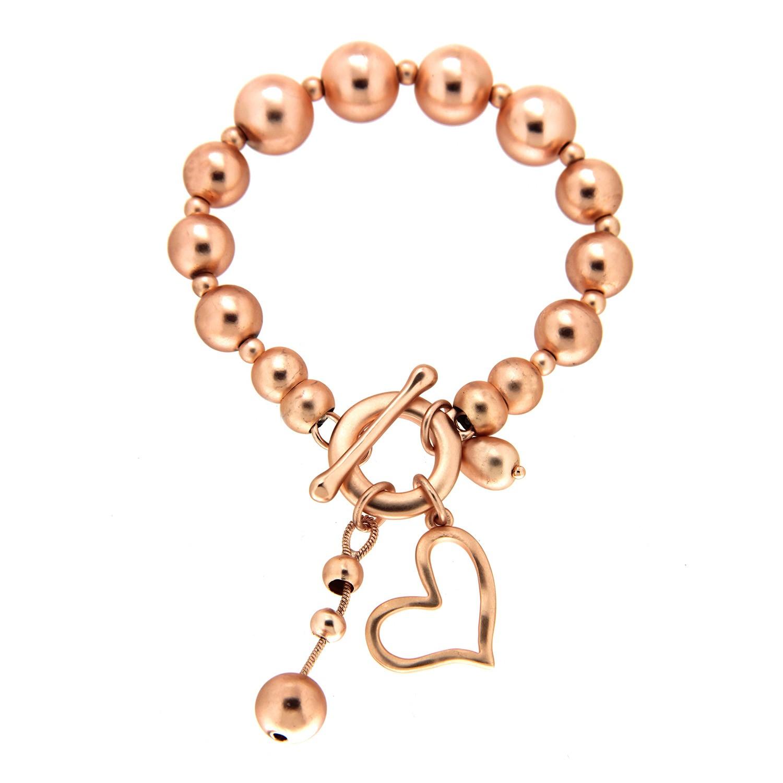 Armband Theja,  rosegold matt 0