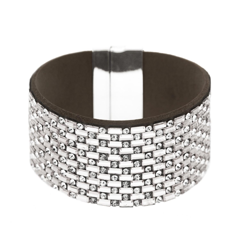 Armband Tya, silber crystal 0