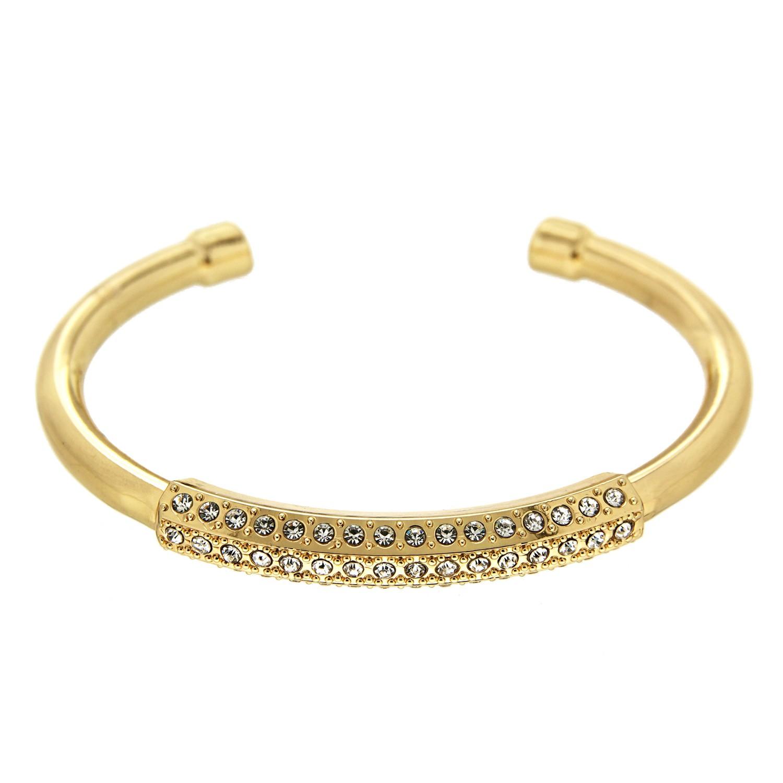 Armreif Felia, gold crystal 0