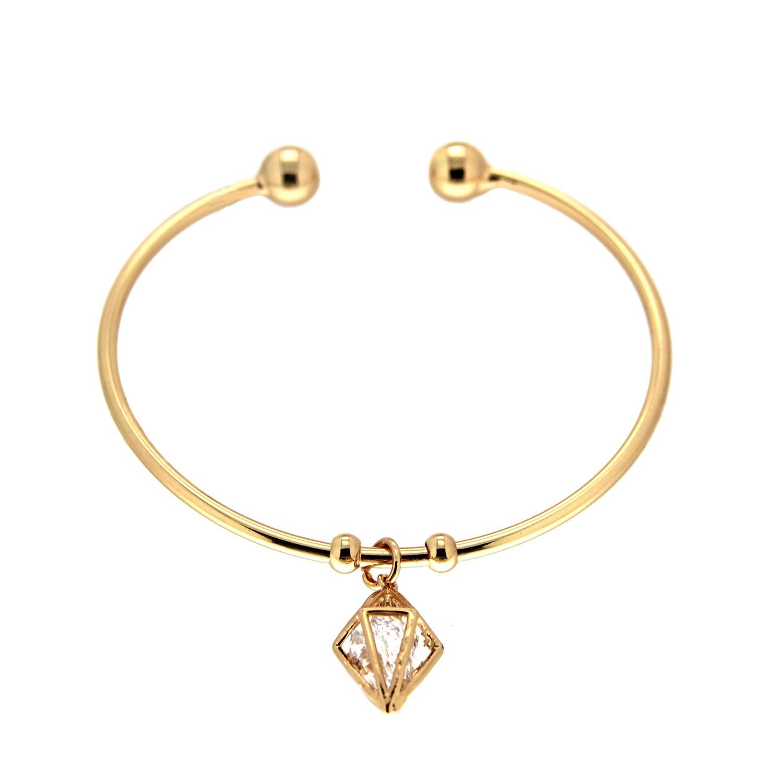 Armreif Nathi, gold crystal 0