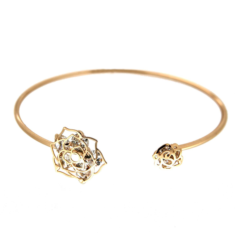 Armreif Salloa, gold crystal 0