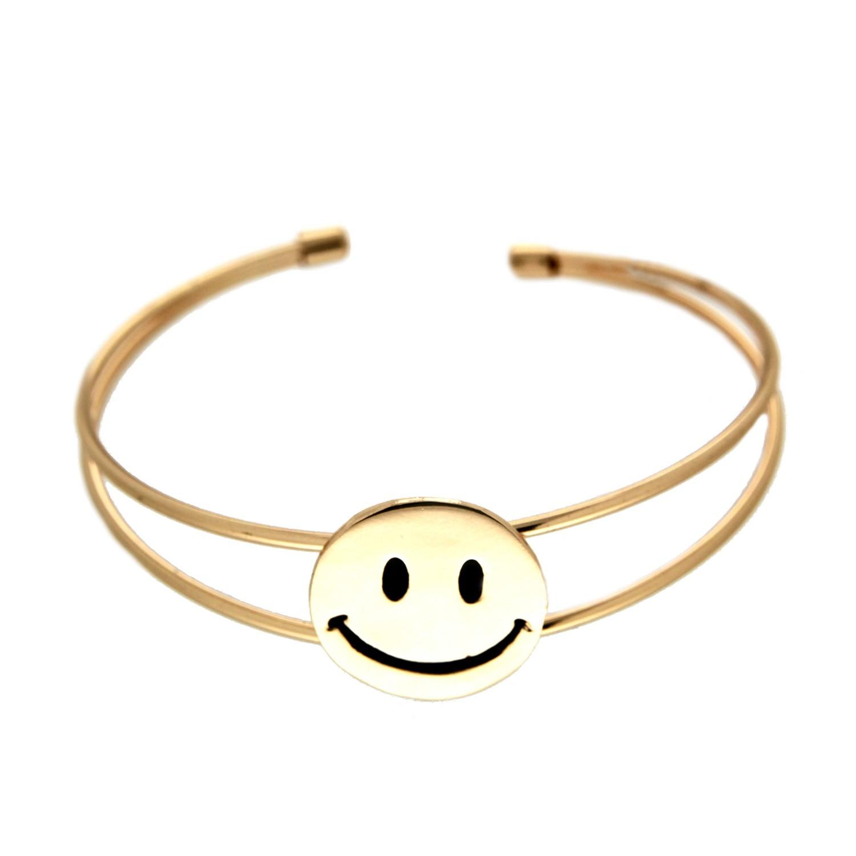 Armreif Smile, gold 0
