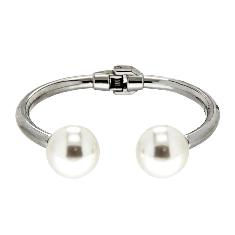 Armspange Derby, silber pearl 0