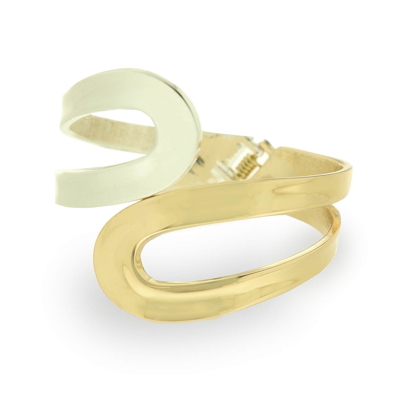 Armspange Diana, gold silber 0