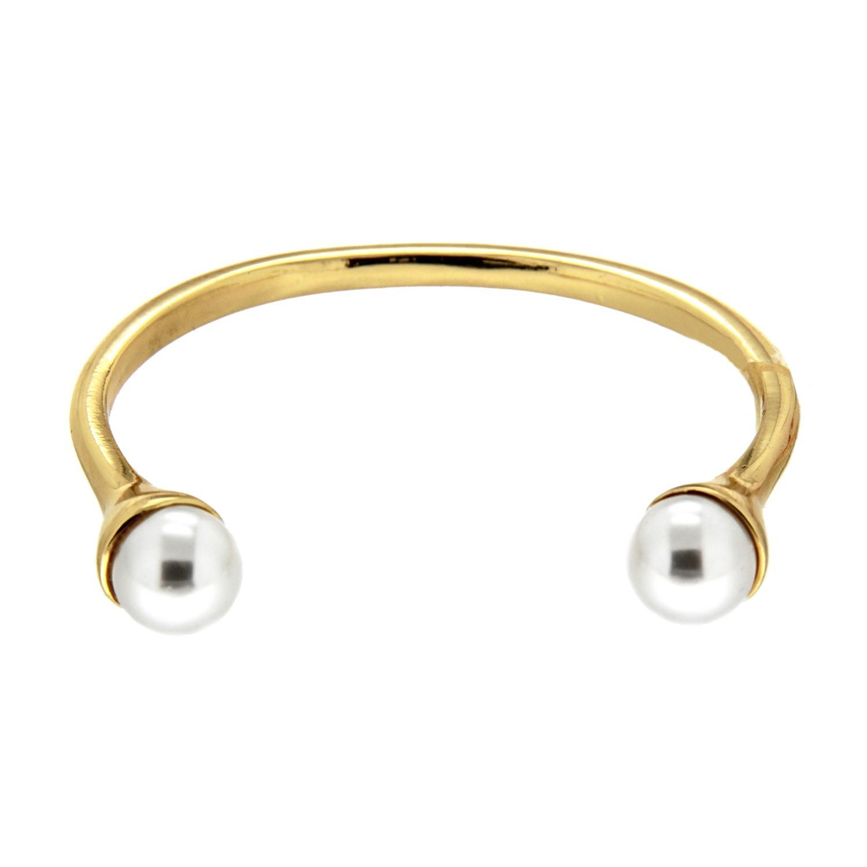 Armspange Nadira, gold pearl 0