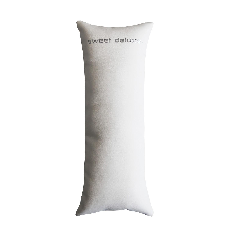 Deko Armbandkissen lang 19cm weiß 0