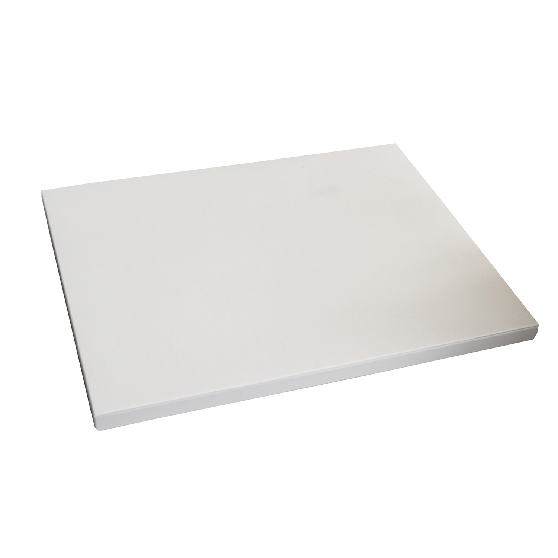 Deko Platte eckig groß weiß 0