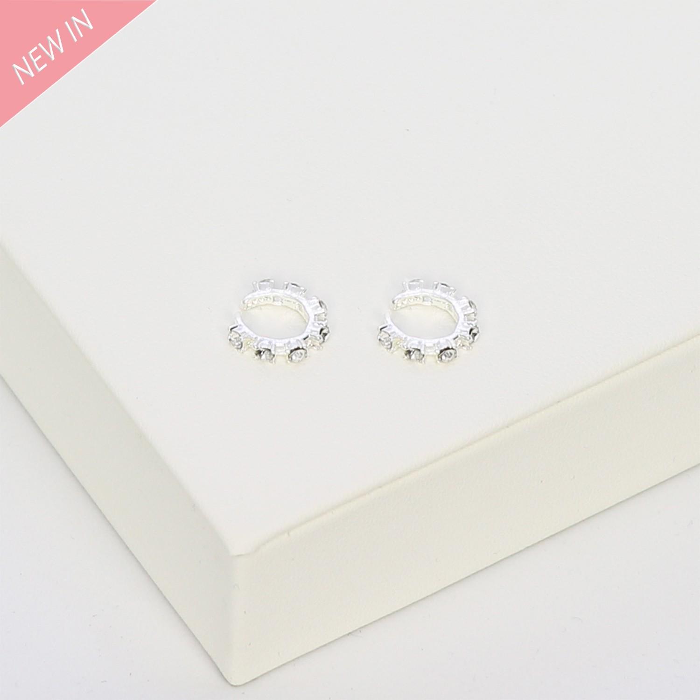 Ear Cuff Embla, silber crystal 0