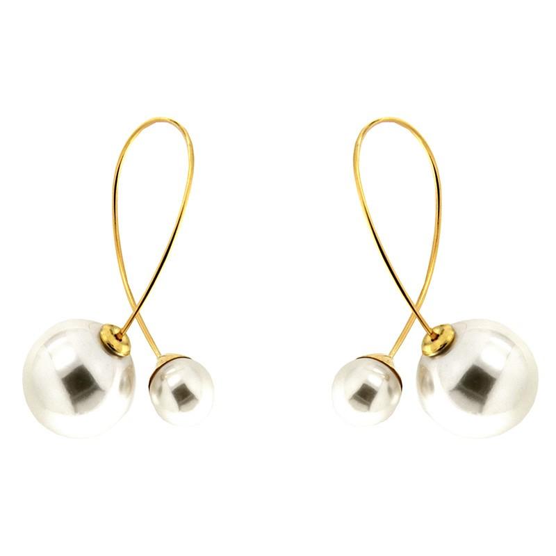 Ohrring Sigrun, gold/pearl 0
