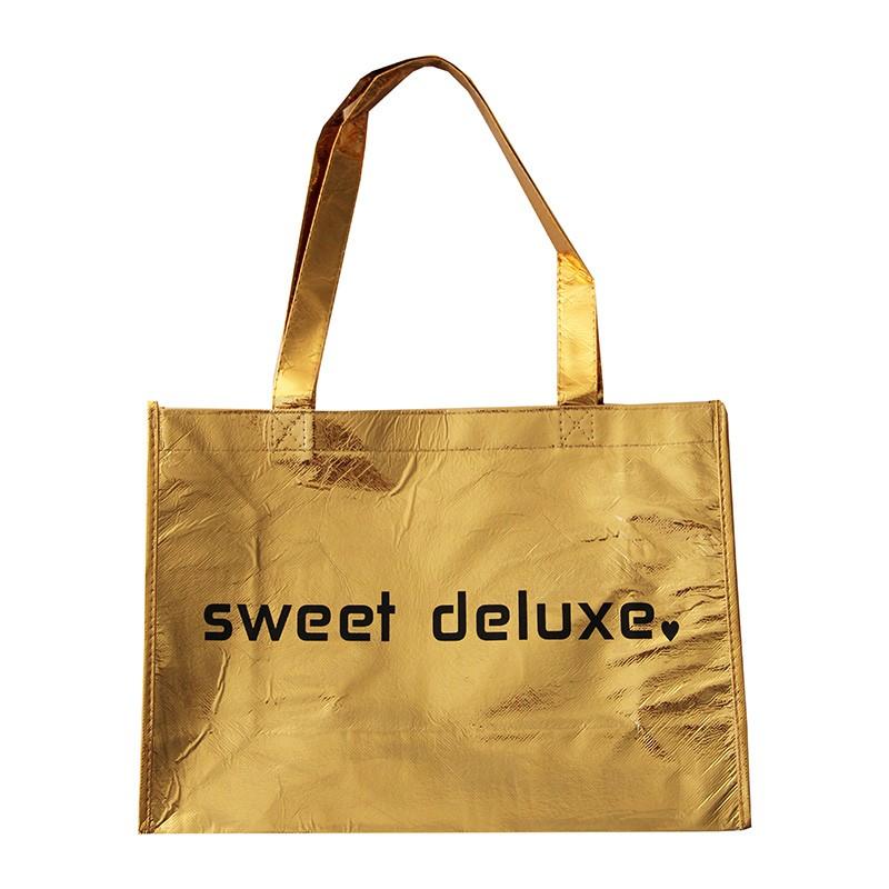 Deko Tragetasche gold sweet-deluxe 0