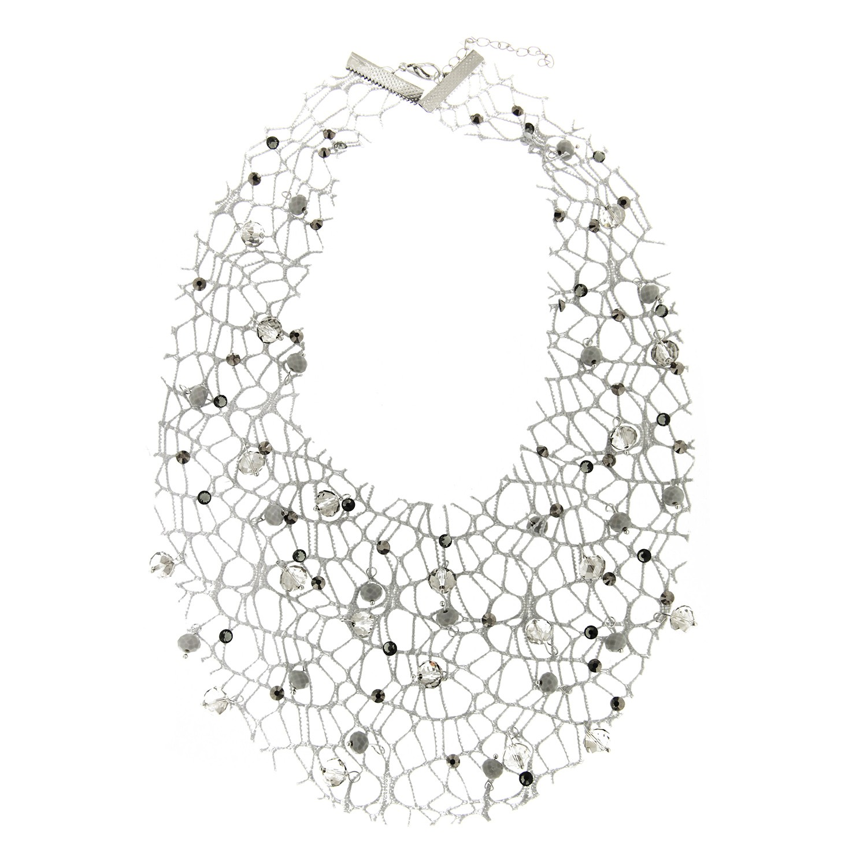 Kette Ailina, grau silber li.bl.diamond 0