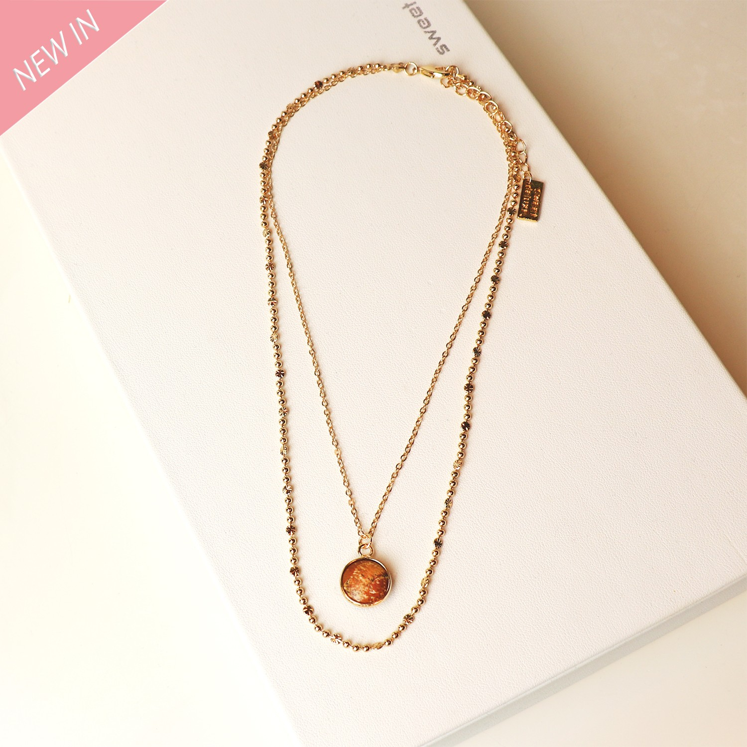Kette Donnice, gold  0