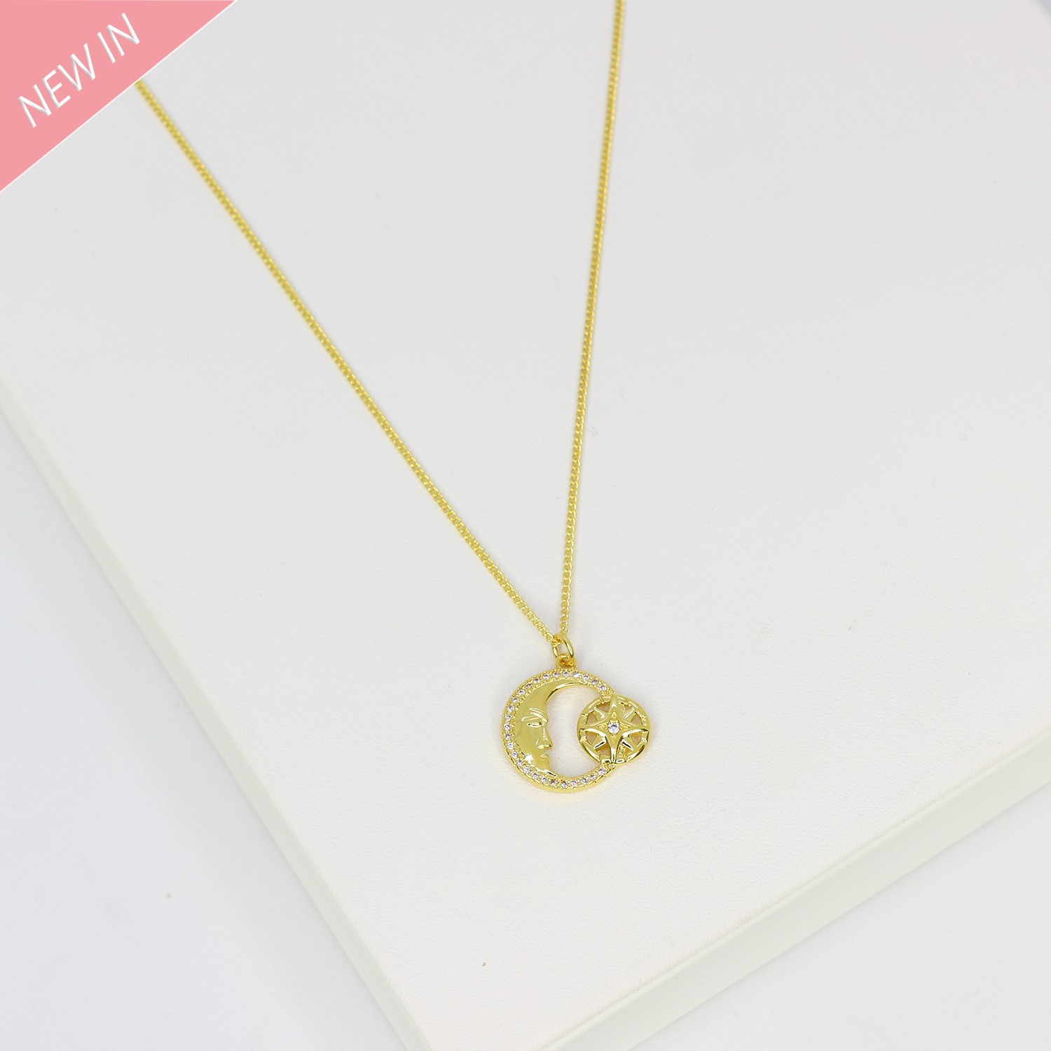 Kette Ebba, gold 0
