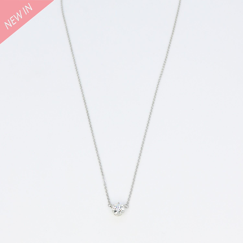 Kette Edla, silber crystal 0