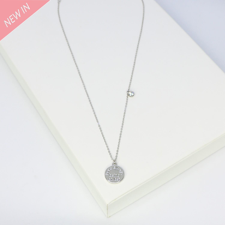 Kette Elischeba, silber crystal 0