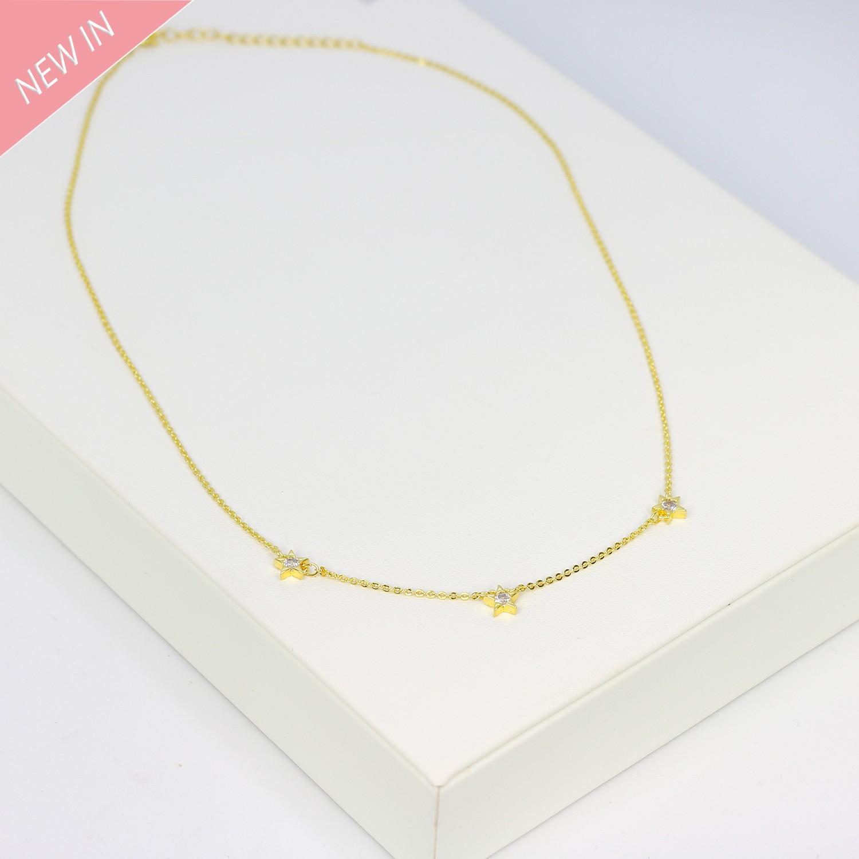 Kette Elke, gold crystal 0