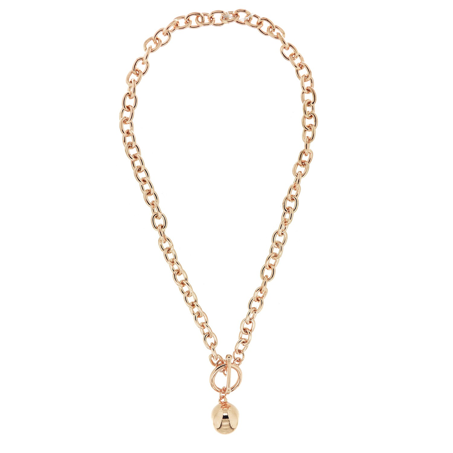 Kette Fawn, rosegold 0