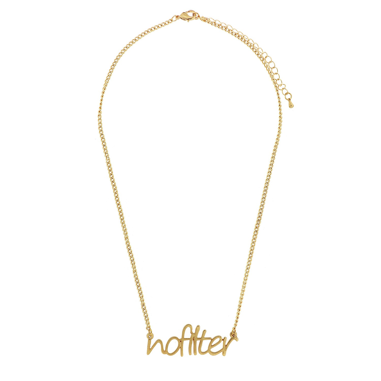 Kette Nofilter, mattgold 0