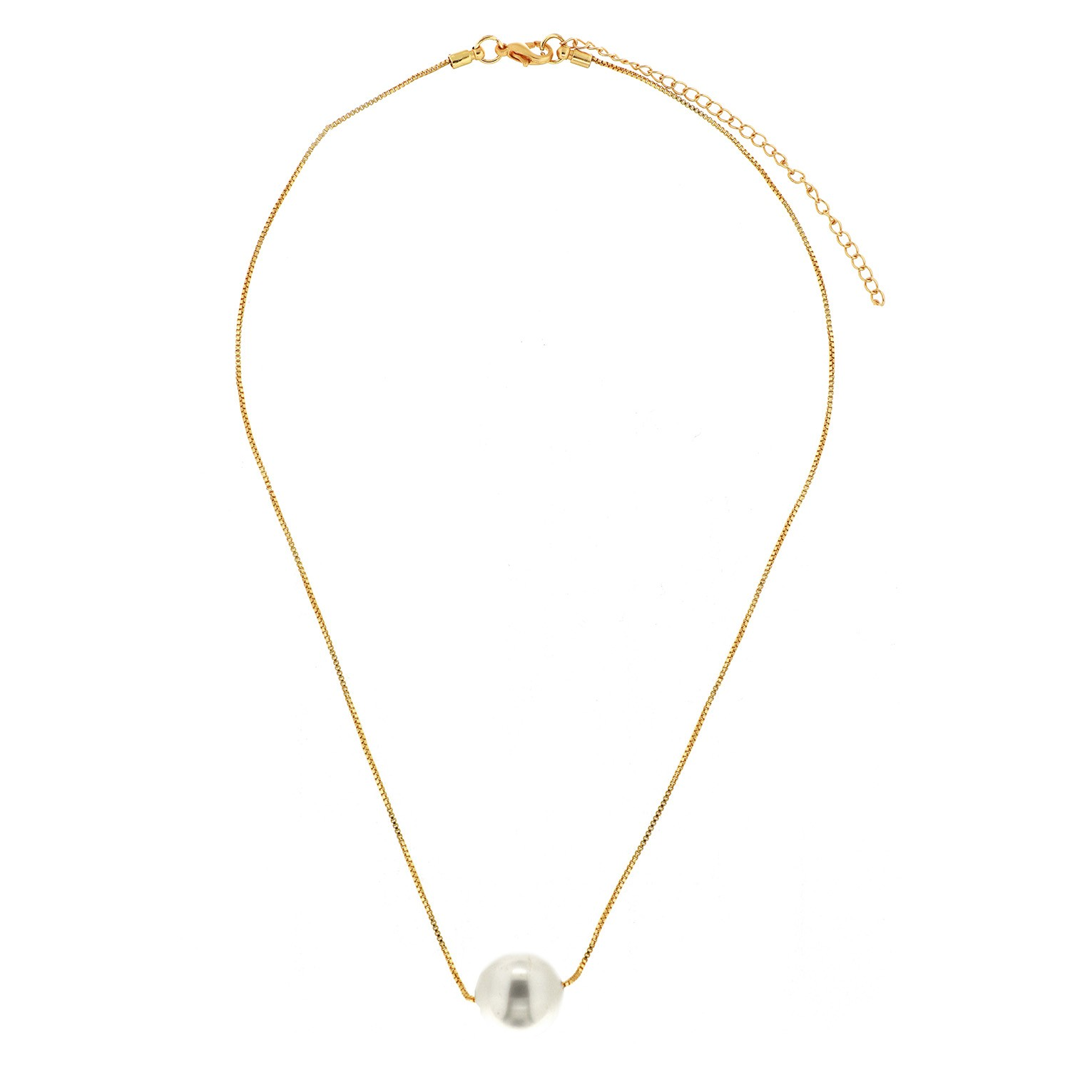 Kette One pearl, gold Perle 0