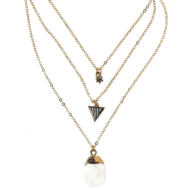 Kette Venera, gold crystal 0