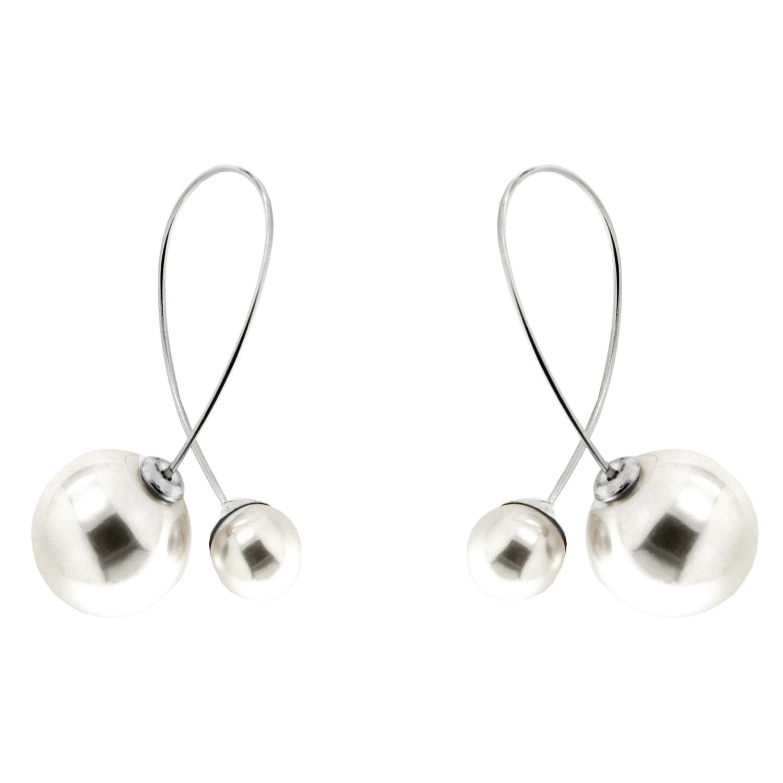 Ohrring Sigrun, silber pearl 0