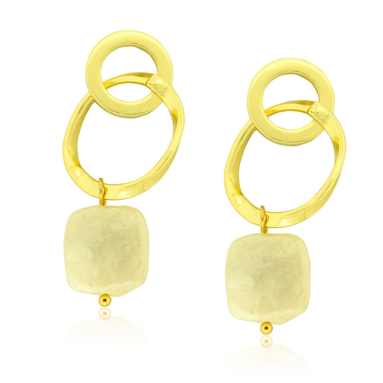 Ohrschmuck Faralda, gold pearl 0